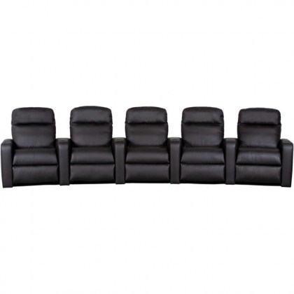 Gatsby Leather Home Theater Group