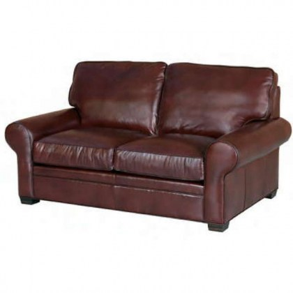 Huntley Leather Loveseat