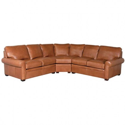 Huntley Leather Sectional