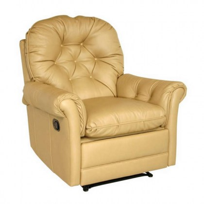 Jerome Leather Swivel Glider Recliner