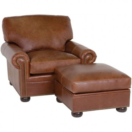 Ginger Leather Chair