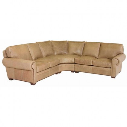 Lawrence Leather Sectional