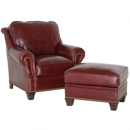Sullivan Leather Lounge Chair