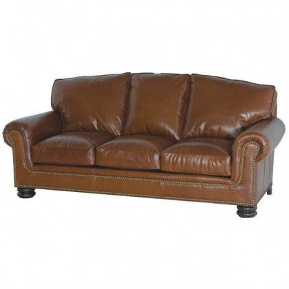 Rockefeller Leather Sofa