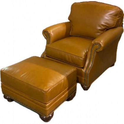 In Stock Leather Chair