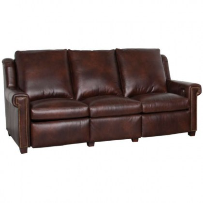 Leon Leather Power Inclining Sofa