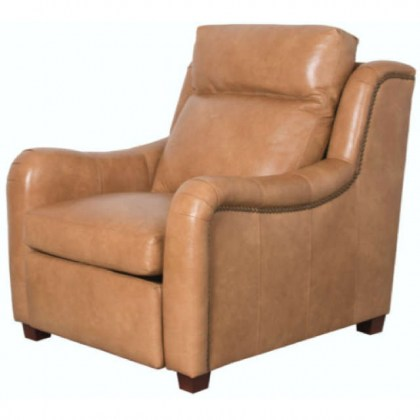 Penelope Leather Power Inclining Chair