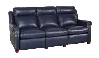 Vista Leather Power Inclining Sofa