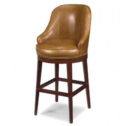 Casino Leather Bar Stool