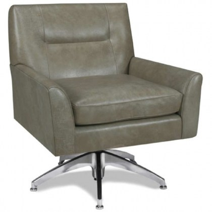 Modern Leather Swivel Chair