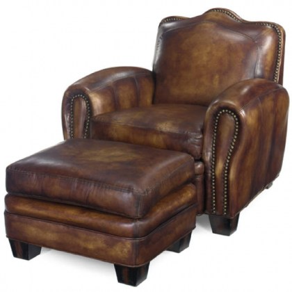 Camelback Leather Chair