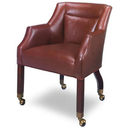 Grayce Leather Game Chair