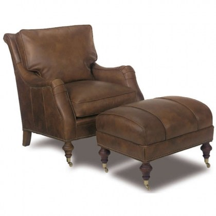 High Point Leather Chair