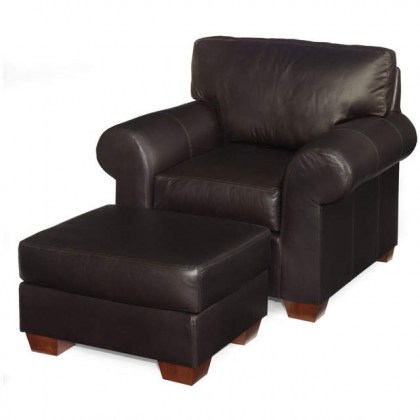 Castle Rock Leather Chair