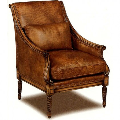 New Orleans Leather Chair