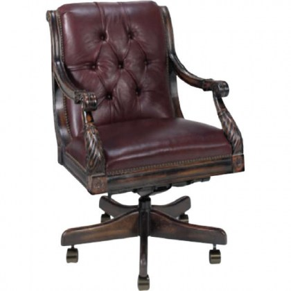 Nob Hill Leather Executive Chair