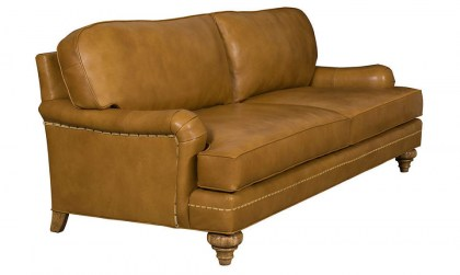 Werthan Leather Sofa
