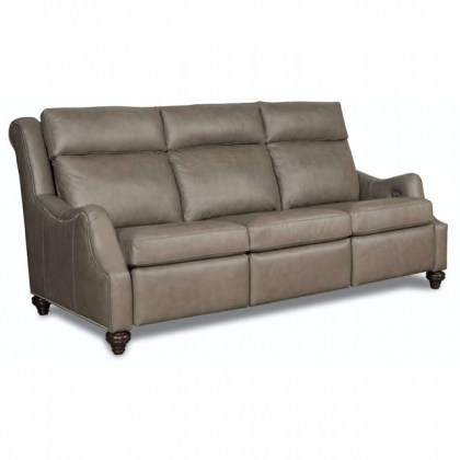 Abigail Leather Power Reclining Sofa