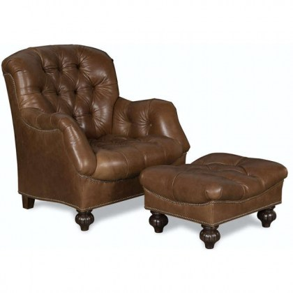 Howard Leather Tufted Chair