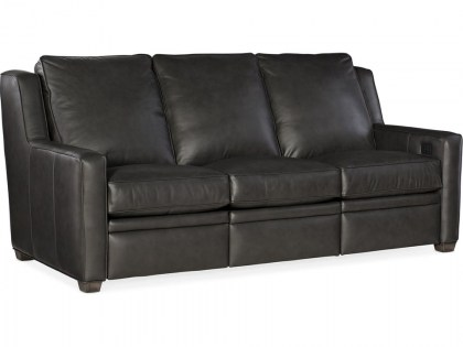 Raymond Leather Power Reclining Sofa