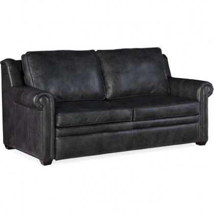 Reece Leather Sleeper Sofa