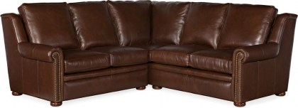 Reece Leather Sectional