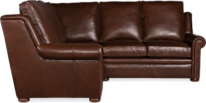 Holly Leather Sectional