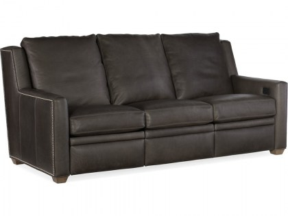 Revelin Leather Power Reclining Sofa
