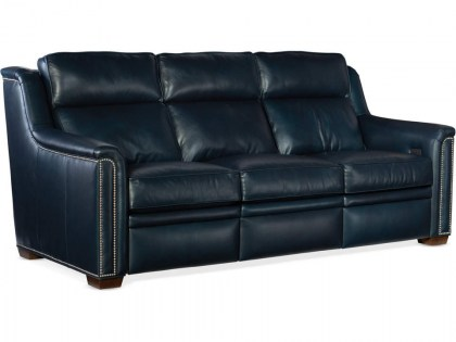 Raiden Leather Power Reclining Sofa