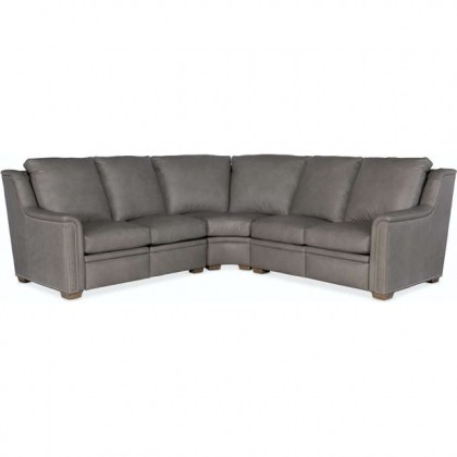 Raiden Leather Power Reclining Sectional