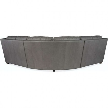 Revelin Leather Sectional