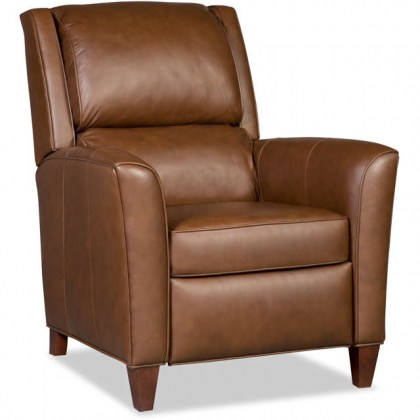Roswell Leather Quick Ship Recliner