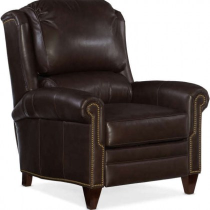 William Leather Recliner - Quick Ship Leather Furniture