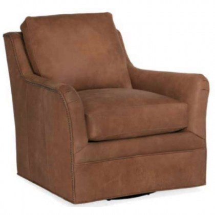 Amor Leather Swivel Chair