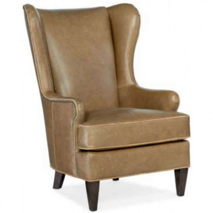Lex Leather Accent Chair