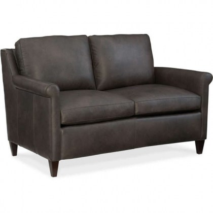 Timber Leather Loveseat