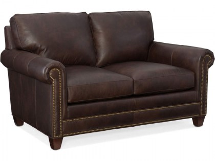 Raylen Leather Sofa - Quick Ship Leather Furniture