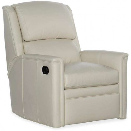 Atticus Leather Swivel Glider Recliner