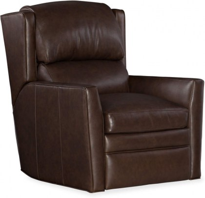 Samuel Leather Wall Hugger Recliner