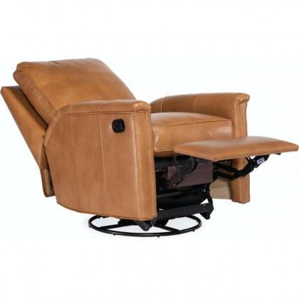 Nala Leather Recliner by American Heritage Collection