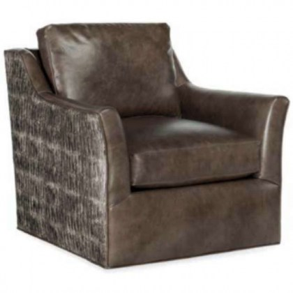 Marleigh Leather Swivel Chair