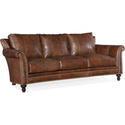 Richardson Leather Sofa - In Stock Leather Furniture