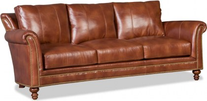 Richardson Leather Sofa - In Stock Furniture