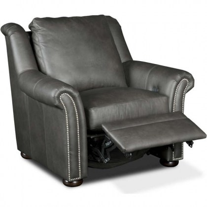 Burke Leather Power Recliner