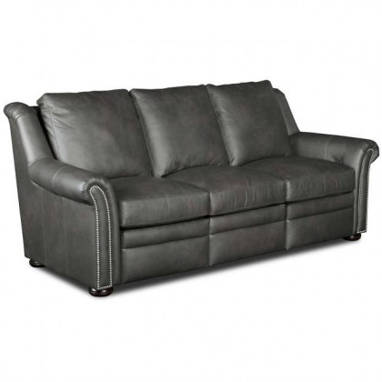Burke Leather Power Reclining Sofa