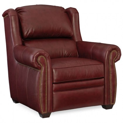 Royce Leather Power Recliner With Articulating Headrest
