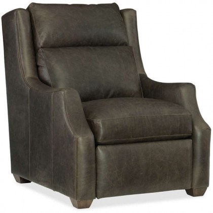 Conover leather Recliner With Articulating Headrest