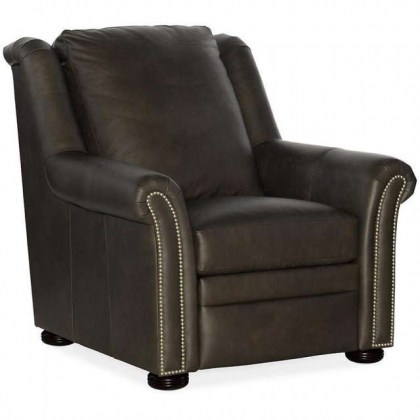 Patriot Leather Power Recliner With Articulating Headrest