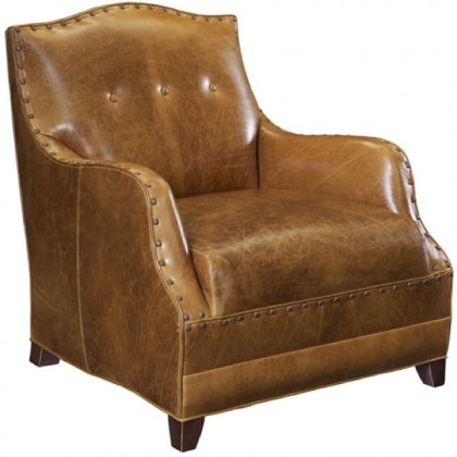 West Leather Chair - Western Leather Chair