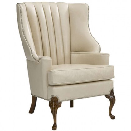 Leather Wing Back Chairs - Discount Leather Furniture